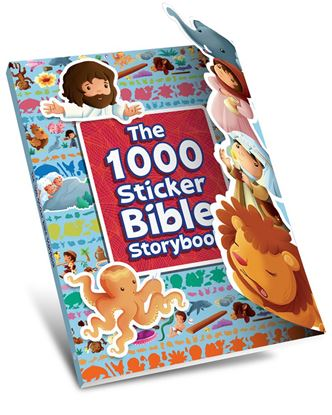 Picture of The 1000 Stickers Bible Storybook