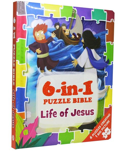 Picture of 6-in-1 Puzzle Bible: Life of Jesus