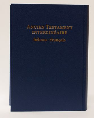 Picture of Ancien testament interlineaire hébreu français