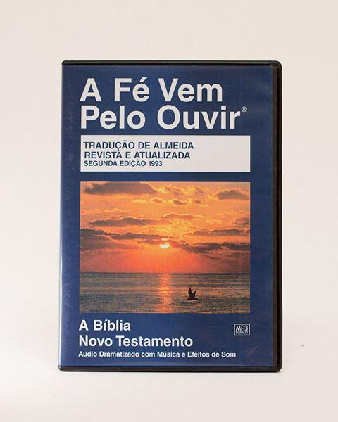 Picture of Brazilian Portuguese MP3 New Testament on CD, Dramatized