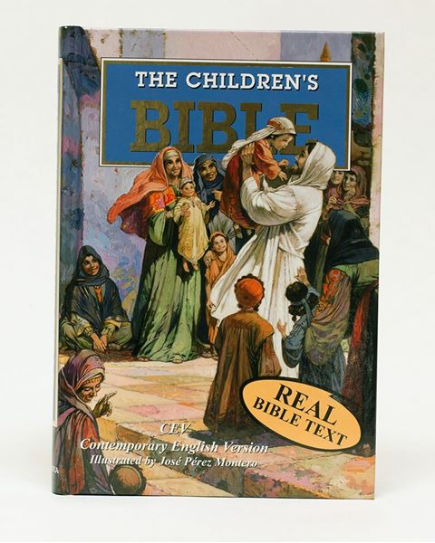 Picture of Children's Bible Storybook Illustrated CEV (Real Text)
