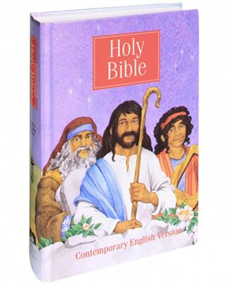 Picture of CEV Illustrated Bible For Children.