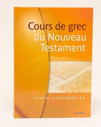Picture of Cours de grec du Nouveau Testament avec CD