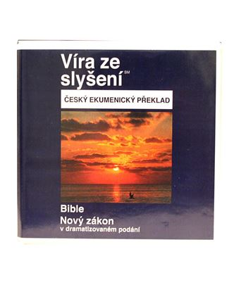 Picture of Czech (Ecumenical) New Testament on CD