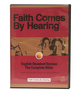 Picture of ESV MP3 Dramatized Bible on CD