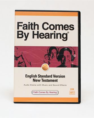 Picture of ESV MP3 Dramatized New Testament on CD