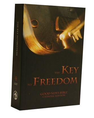 Picture of Good News Bible – Key to Freedom Catholic Edition, Bible for Prison Ministry