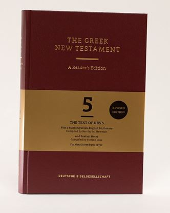 Picture of Greek New Testament, Reader's Edition (UBS)