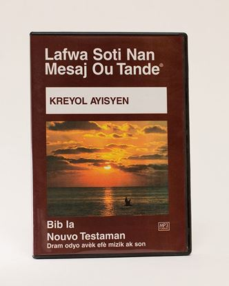 Picture of Haitian Creole MP3 New Testament on CD