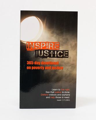 Picture of Inspire Justice: 365 Day Devotional on Poverty and Justice