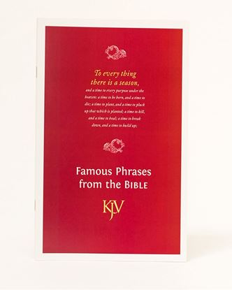 Picture of Famous Phrases from the Bible