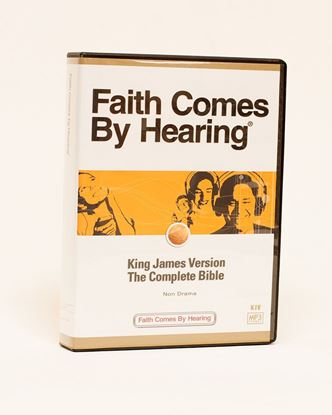 Picture of KJV MP3 Bible on CD