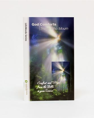 Picture of God Comforts Those Who Mourn – LifeWords Series