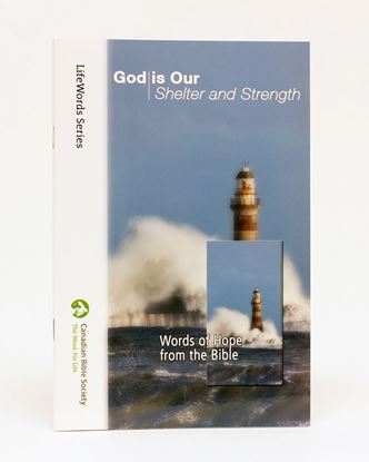 Picture of God is Our Shelter and Strength – LifeWords Series LARGE PRINT EDITION