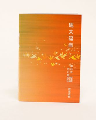 Picture of Chinese Gospel of Matthew RCU