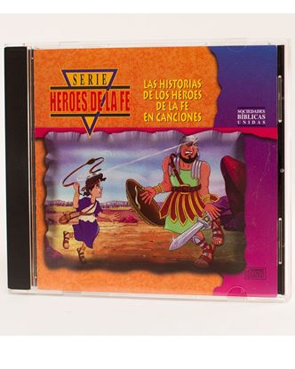 "Picture of Spanish – ""Heroes of Faith"" (Heroes de la Fe) songs, CD Vol. 1"