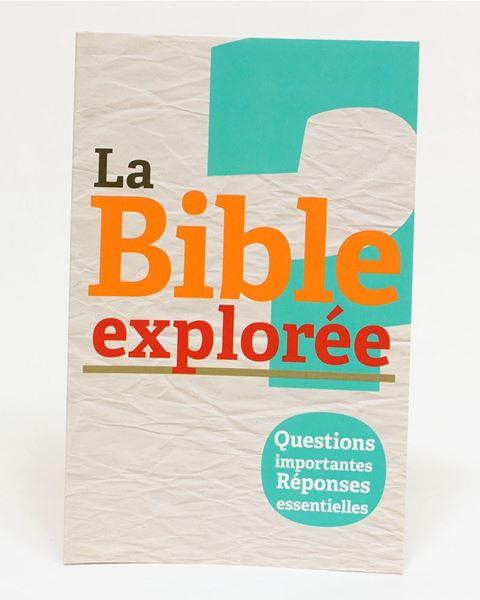Picture of Bible Explorée 1: Questions importantes Réponses essentielles