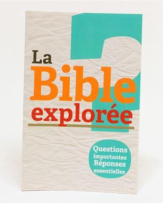 Picture of Bible Explorée 1: Question importantes Réponses essentielles EPUB