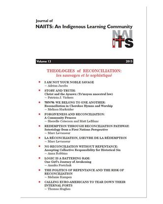 Picture of Journal of NAIITS Volume 13 - 2015 PDF