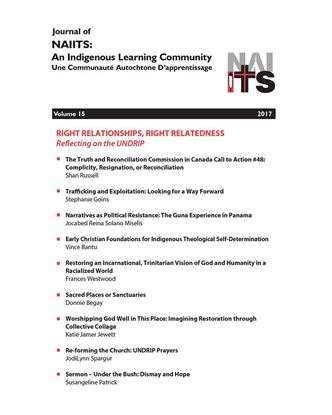 Picture of Journal of NAIITS Volume 15 - 2017