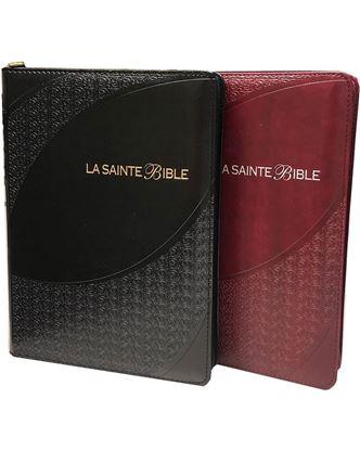 Picture of Bible Louis Segond 1910 caractères moyens Paroles de Jésus en rouge