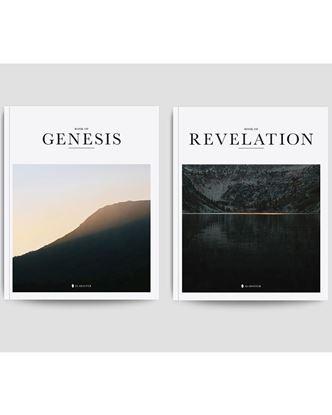 Picture of Alabaster Genesis & Revelation Set