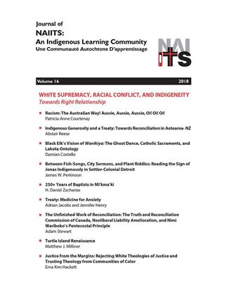 Picture of Journal of NAIITS Volume 16 - 2018