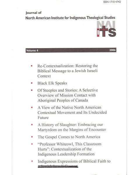 Picture of Journal of NAIITS Volume 04 - 2006 - For Institutions