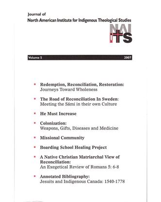 Picture of Journal of NAIITS Volume 05 - 2007