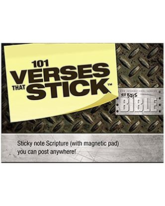 Picture of 101 Verses that Stick for Boys Based on the NIV Boys Bible