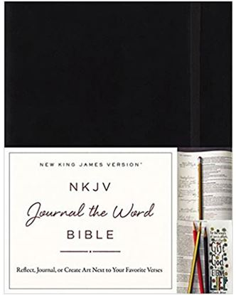 Picture of NKJV Journal the Word Bible