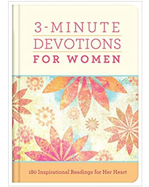 Picture of 3-Minute Devotions for Women