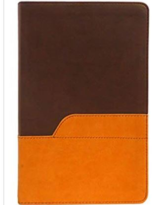 Picture of NIV Bible Large Print (Chocolate/Amber)
