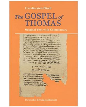 Picture of Gospel of Thomas in Greek/Coptic/English