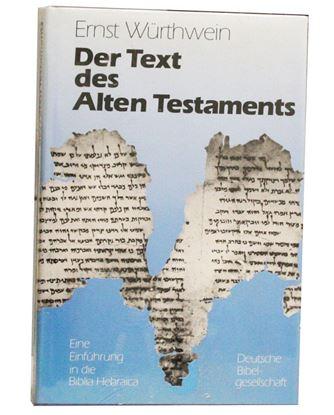 Picture of Der Text des Alten Testaments 5th Revised edition. 1988