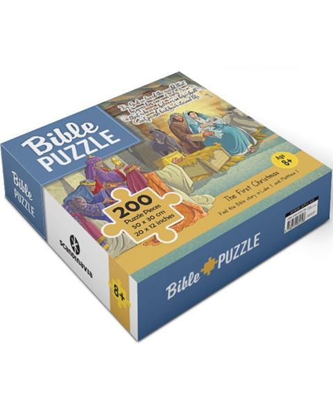 Picture of Bible Puzzle 2: The First Christmas (200 Pieces)
